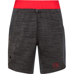 La Sportiva Circuit Shorts Mujer, carbon/hibiscus